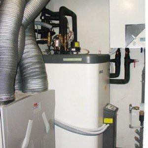 pompa di calore per raffrescamento e riscaldamento